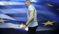 Varufakis elaboró un camino alternativo mientras era ministro. Foto: Reuters