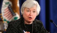 Janet Yellen: si no hay cambios, pondrá fin al programa de recompra de bonos. Foto: Reuters
