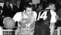 Nicolás Mazzarino. Fue campeón con Hebraica Macabi en 1994, con solamente 19 años