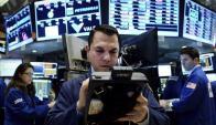 Un operador en Wall Street. Foto: EFE