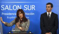 El candidato que impulsó Cristina Fernández terminó desplazado.