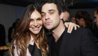 Robbie Williams y su esposa