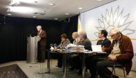 Reunión del presidente de la República Tabaré Vázquez con la bancada del Frente Amplio, 11 de mayo de 2015. Foto: @EsMonicaFA