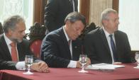 Rodolfo Nin Novoa asumió como ministro de Relaciones Exteriores. Foto: Francisco Flores.