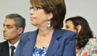 Marina Arismendi, ministra de Desarrollo Social. Foto: Archivo de El País
