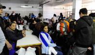 Trabajadores de Fripur ocupan desde el martes la planta. Foto: Marcelo Bonjour
