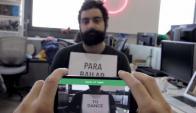 """La cámara de Google translate logra traducir del español al inglés kla popular canción """"La Bamba""""."""