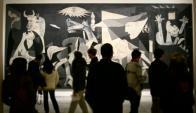 El Guernica de Picasso fue falsificado para el cine.