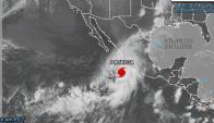 El huracán patricia impactará este viernes en las costas del occidente mexicano.