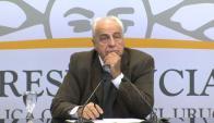 Víctor Rossi, ministro de Transporte y Obras Públicas. Foto: Captura de pantalla, Presidencia