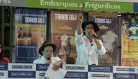 """En el local """"Don Tito"""" se ofrecerán 1.500 vacunos. Foto: Pablo D. Mestre"""