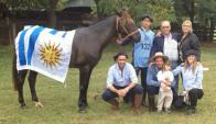 Nuevamente la familia Mattiauda festejó un Enduro Ficcc. Foto: El País