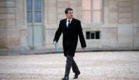 Manuel Valls en 2013. Foto: Archivo AFP
