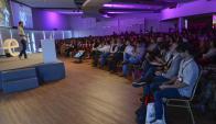 A sala llena. Los cincio speakers de la mañana expusieron ante un auditorio repleto de emprendedores en Kibón Avanza. (Foto:Gentileza Endeavor)