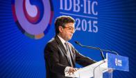 LuisAalberto Moreno, presidente del BID. Foto: EFE