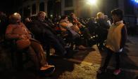 Los senadores José Mujica y Lucía Topolansky  no fueron oradores. Foto: F. Ponzetto.