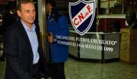 Franco se sumó a Munúa y Berman el 30 de junio, cuando fueron presentados. Foto: Gerardo Pérez