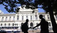 En la Facultad de Derecho de la Udelar hay 14 grupos de Consultorio Jurídico. Foto: Inés Guimaraens.