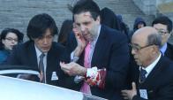 Mark Lippert, embajador de EE.UU. en Corea del Sur. Foto. AFP