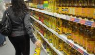 Góndola supermercado
