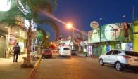 La ciudad de Rivera es la más afectada. Cerraron varios locales. Foto: F.Fernández.