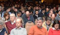 Más de 1100 productores de todo el país se hicieron presentes. Foto: El Telégrafo(Paysandú).