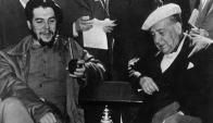 El Che y Haedo en Punta del Este, una foto que fue símbolo de una época.