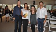 Ruperto Long, María Inés Machiñena, Florencia Ripa, Pedro Márquez.