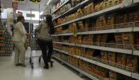 Alimentos fue el rubro que más influyó en la suba de precios de marzo. Foto: Francisco Flores