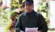 El ministro de Defensa de Venezuela confirmó la noticia. Foto: AFP