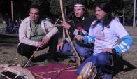 8 representantes de descendientes charrúas llevarán armas y tradiciones nacionales. Foto: A. Colmegna