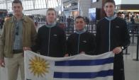 La delegación uruguaya de pentatlón que disputó el Sudamericano. Foto: Federación Uruguaya Pentathlon Moderno