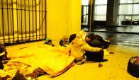 Las familias sirias no analizan la posiblidad de volver a sus casas todavía. Foto: M. Bonjour