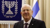 Rivlin invitó a Abas a concurrir a Jerusalén. Foto: AFP