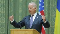 Joe Biden, vicepresidente de Estados Unidos. Foto: AFP