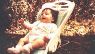 Imagen de Clara Anahí cuando era bebé. Foto: Fundación Anahí.
