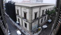 """La fachada del Cabildo está construida en base a antiguos """"sillares de piedra"""". Foto: F. Ponzetto"""