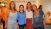 María José Civelli, Pascale Berndt, María Pacheco y Florencia Herrera en Margara Shaw.