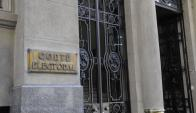 Oficina de la Corte Electoral en Montevideo. Foto: Archivo El País