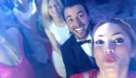 Claudia Fernández y Fernando Cristino. Foto: Twitter