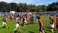 Las escuelas y liceos comienzan a tener más presencia en el mundo del rugby.
