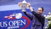Flavia Pennetta es la flamante campeona del US OPEN