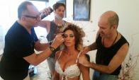 Giannina Silva y un equipo de lujo para dejarla espectacular.