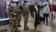 Después de los ataques terroristas fue notorio el despliegue de soldados. Foto: Reuters