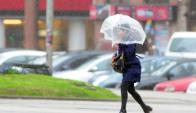 Pronóstico: continuarán las lluvias en la jornada de ayer. Foto: Marcelo Bonjour