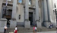 BROU pidió embargar a las denunciadas, pero la jueza rechazó esta medida. Foto: F.Flores.