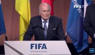 Joseph Blatter Elecciones FIFA 29/05/15