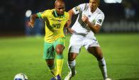 Argelia venció a Sudáfrica. Foto: EFE