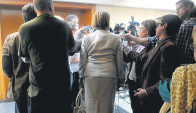 Filgueira desistió de acompañar a Muñoz a la Comisión. Foto: A. Colmegna.
