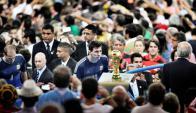 Esta imagen de Messi es ganó el World Press Photo. Foto: Bao Tailiang.